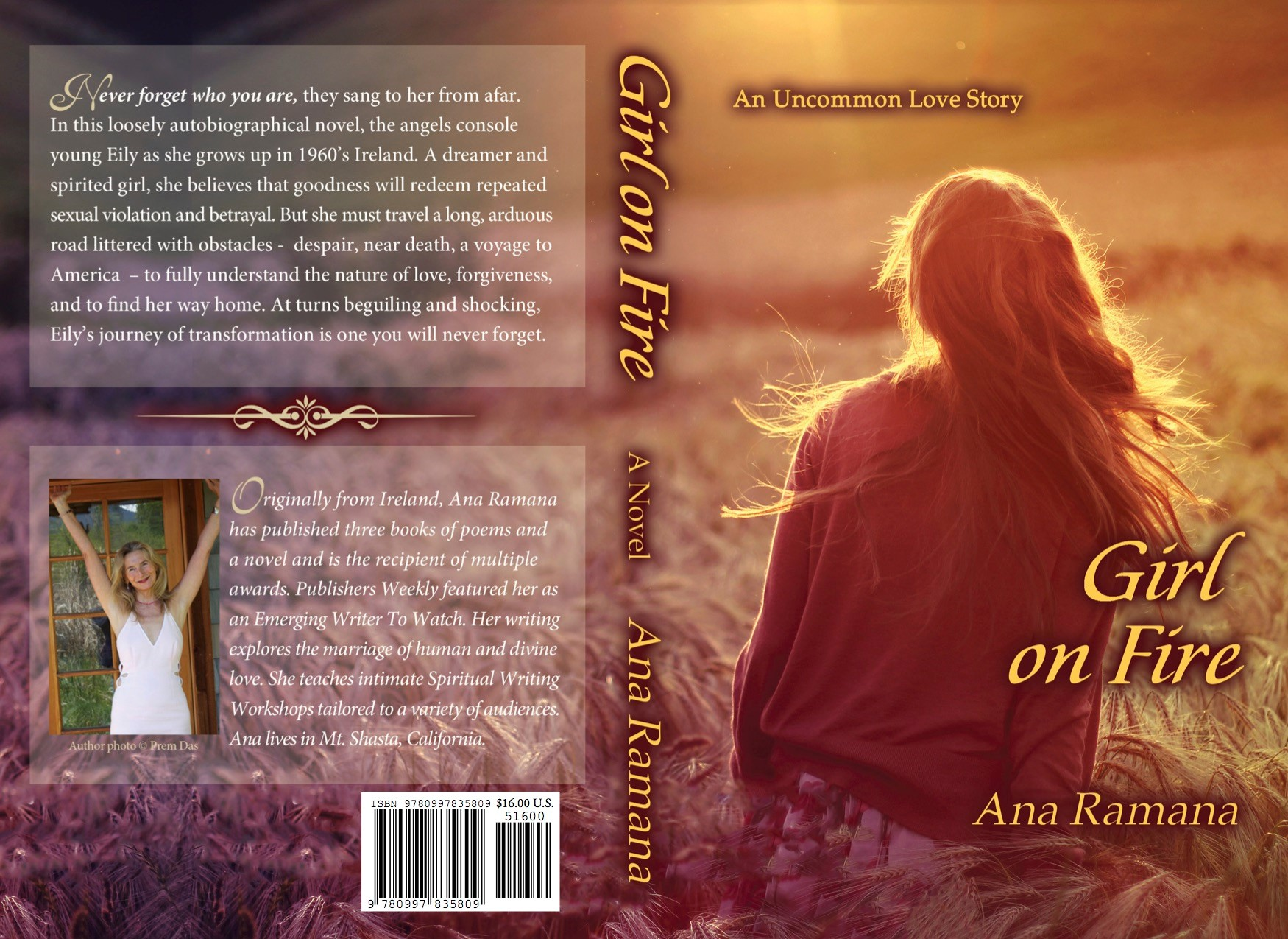 Girl on Fire Book Cover